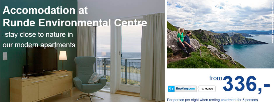 Runde Environmental Centre offers apartments for rental year round. Book here!